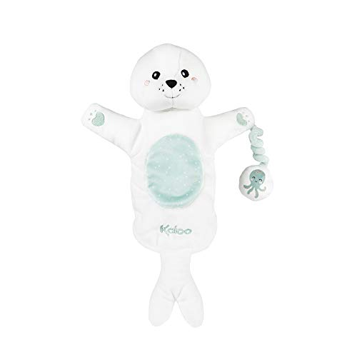 Kaloo - Colección Kachoo - Marioneta de Peluche para Bebé 30 cm, La Foca Bill (K963589)