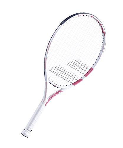 Babolat Junior Pure Drive Junior 23 - Raqueta (215 g), color blanco y rosa