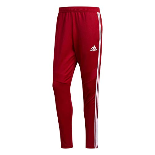 adidas Herren Tiro 19 Trainingshose, Herren, Hosen, Tiro19 Training Pants, Power Rot/Weiß, Medium