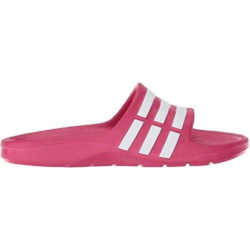 adidas Duramo Slide K, Scarpe da Spiaggia e Piscina Bambina, Rosa (Pink Buzz/Running White Footwear/Pink Buzz 0), 35 EU