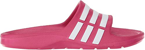 Adidas Duramo Slide K, Scarpe da Spiaggia e Piscina Bambina, Rosa Running White Footwear/Pink Buzz 0, 38 EU