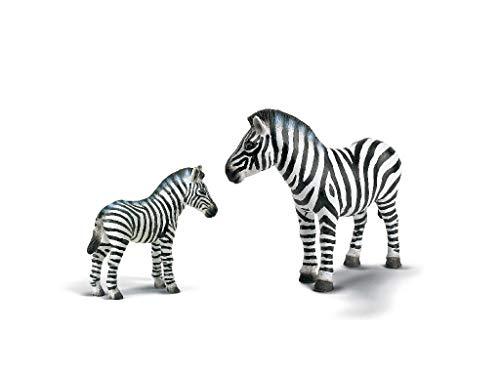 Wildlife - Schleich Zebra, Stute + Fohlen (14148, 14146)