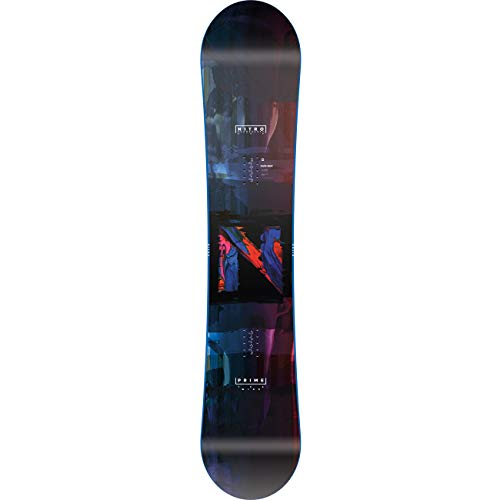 Nitro Snowboards Herren PRIME OVERLAY WIDE '20 Brd All Mountain Beginner Wide Board für große Füße