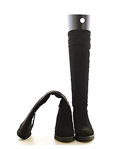 SYBL 2 Pairs4 Sheets Boot Shaper Form Inserts Tall Boot Support Shaper Thicken Shoe Tree Shape Holder for Women and MenBlack 16 Inches