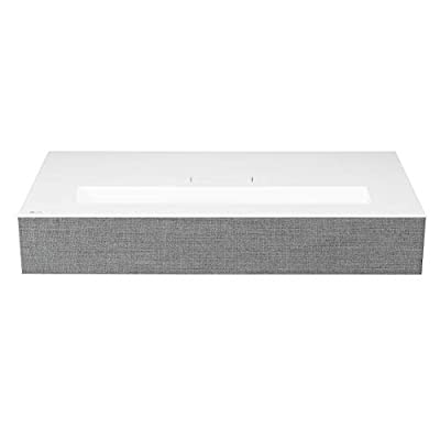 LG HU85LA Ultra Short Throw 4K UHD Laser Smart Home Theater Cinebeam Projector with Alexa built-in, Thinq AI and the Google Assistant