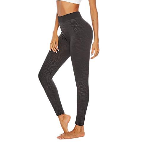 ZZBO Sport Leggings Damen Yoga Leggins Sporthose Fitnesshose mit Hohe Taille Sport Fitnesshose Laufhose Blickdichte Weich Yoga Hose Für...