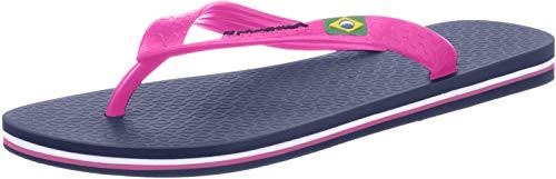 Ipanema CLAS Brasil II Fem, Infradito Donna, Blue/Pink, 38 EU