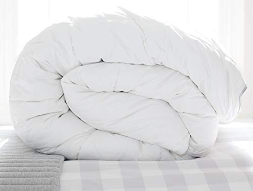 Scooms Hungarian Goose Down Duvet 9 Tog Single Luxury Duvet – Anti Allergy Duvet - Plastic Free Packaging (Single)