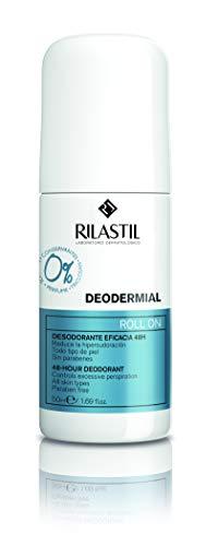 Rilastil Deodermial - Desodorante Roll-On que Reduce la Hipersudoración - Eficacia 48 horas - 50 ml