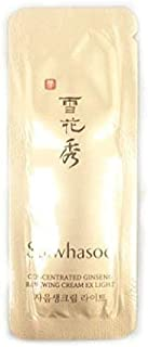 30X Sulwhasoo Sample Concentrated Ginseng Renewing Cream EX LIGHT 1 ml. Super Saver Than Normal Size