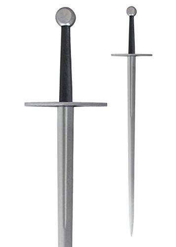 Hanwei SH2411 Tinker Bastard-Schwert - Scharf mit Hohlkehle 109cm lang mit Scheide Hochwertiges Schwert LARP Ritter Mittelalter Verkauf ab 18 Jahren