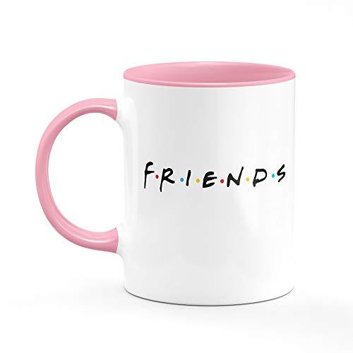 Caneca Friends Logo B-pink