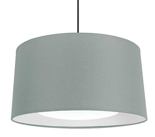 Tosel 14877 Alfena Tambour 350 D, Tissu/Coton/PVC, Taupe/Blanc, 350 x 900 mm