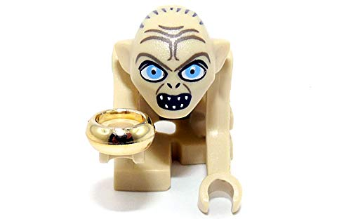 LEGO The Lord of the Rings/ The Hobbit Minifigur : Gollum with golden ring and fish (out of Set 9470) NEW