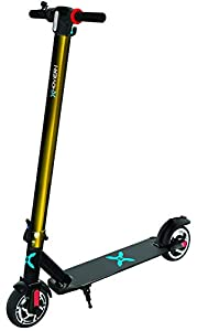HOVER-1 Eagle Electric Scooter Folding Balance Board with LED Lights in Black & Gold