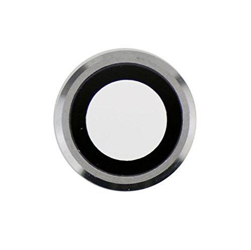 """BEST SHOPPER Camera Lens Cover Replacement Part Compatible with Apple iPhone 6 Plus 5.5"""" - Silver"""