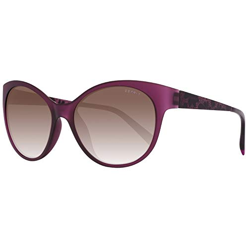 ESPRIT ET17886 55577 Sonnenbrille ET17886 577 55 Schmetterling Sonnenbrille 53, Violett
