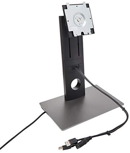 Dell DS1000 USB-C-Dockingstation mit Monitorständer, VESA-Schnellspanner (VT96R)