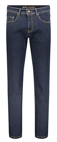 MAC Jeans Herren Ben Alpha New Basic Denim Straight Jeans, Blau (Night H098), W36/L30