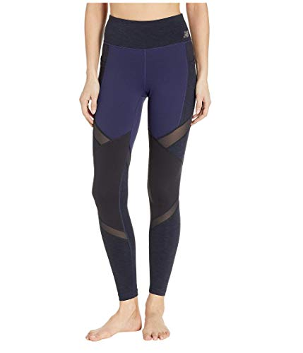 New Balance Women's High Rise Pocket Tight, Pigment, L