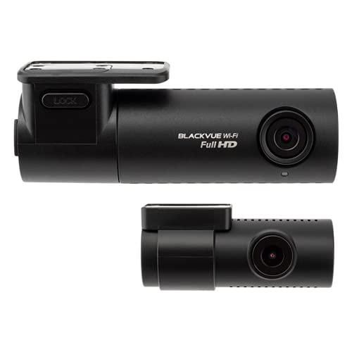 BlackVue DR590X-2CH with 32GB microSD Card   Full HD Wi-Fi Dashcam   Parking Mode Support   Built-in Voltage Monitoring