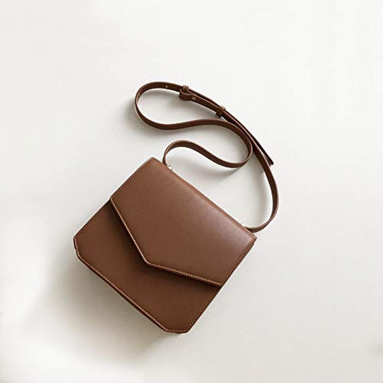 WANGZHAO Niche Design Female Package Autumn Winter Minimalist Retro Single Shoulder Small Square Bag Casual Lounge Satchel