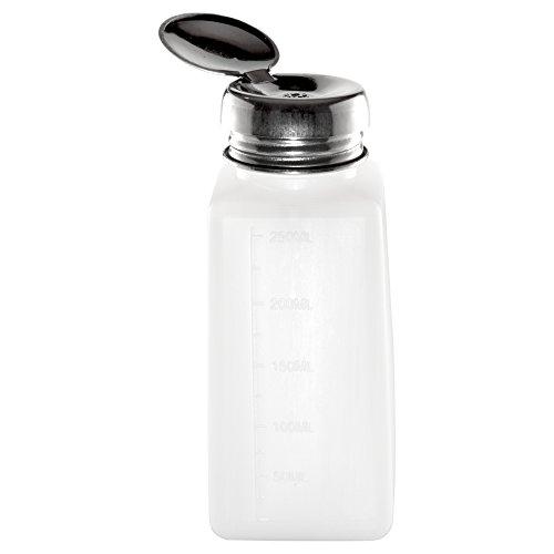 Dispenser / Pumpflasche / Flüssigkeitsspender mit Metalldeckel (leer) Fassungsvermögen ca. 250 ml