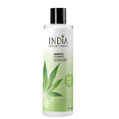 Shampoo mit Cannabis Öl. Premiumqualität, Linderung bei Schuppen, fettige Haare, trockene Haare, schuppige und trockene Kopfhaut. 400ml XXL Größe