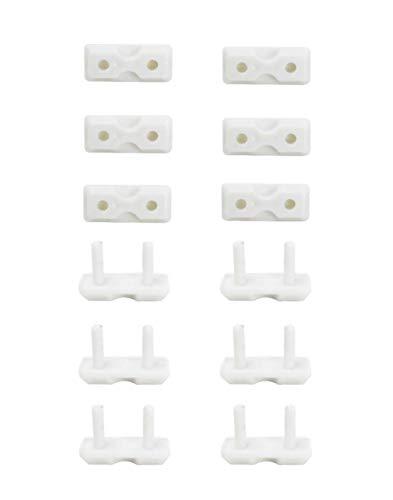 12 piezas protector enchufes seguridad infantil