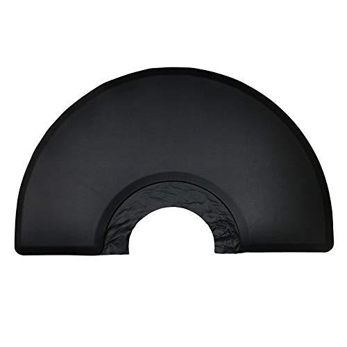 Bonarty 5 'x 3' di Grandi Dimensioni Nero Semi Cerchio Anti-Fatica Salone di