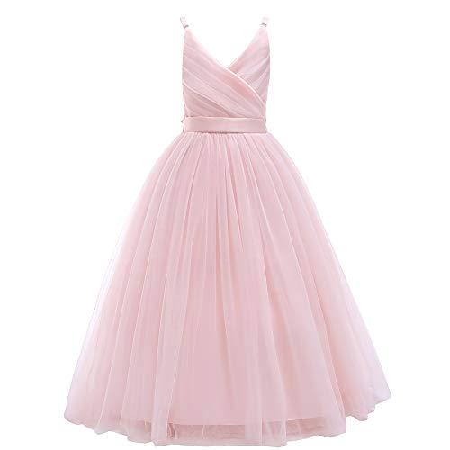 Glamulice Girls Lace Bridesmaid Dre…