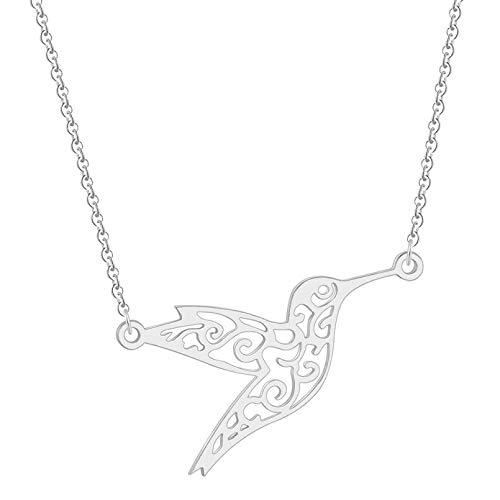 N/A Joyas de Pulsera Animal Colibrí Swallow Pulsera Origami Flying Bird Cadena Brazaletes para Mujeres Niñas Joyería B Regalo de cumpleaños de San Valentín