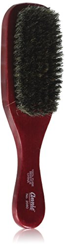 ANNIE Wave Soft Brush (Model:2080), Natural wood, boar bristles, wooden brush, won't pull on your hair, detangler, pulls out the knots