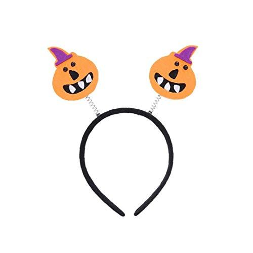 Lankater 1pc Kürbis Halloween-schädel-entwurf Kostüm Kopfstück - Feiern Verkleiden Partei Stirnband - Maskerade Festive Dekor Gesicht Kopfschmuck Accessoire.
