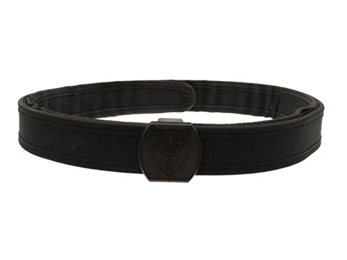 BEGADI Versteifter, Zweiteiliger IPSC Gürtel aus Nylon - schwarz XL
