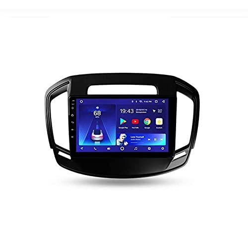Android Car Stereo Radio Double DIN Sat Nav para Opel Insignia 2013-2017 Navegación GPS Reproductor Multimedia con Pantalla táctil de 9 Pulgadas Receptor de Video con 4G DSP RDS