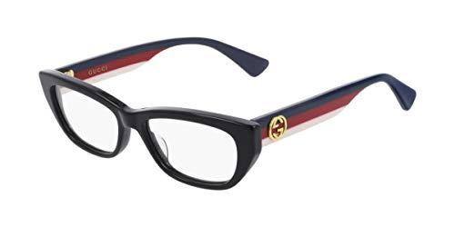 Gucci Occhiali da vista GG0277O Black Blue Red 48/15/145 donna