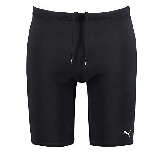 PUMA Herren Jammer Swim Schwimmanzug Hose Schwimmen Short, Farbe:Black, Bekleidungsgröße:S