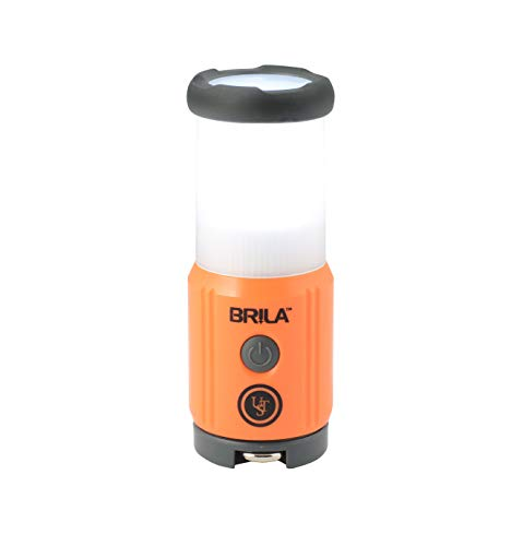 UST Brila Mini LED Portable 27 LUMEN Lantern for Camping, Hiking, Emergency and Outdoor Survival