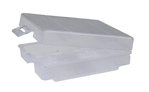 ANSMANN Batteriebox für AAA Micro & AA Mignon Akkus & Batterien - Praktische Akkubox zum Schutz & Transport für 4 Accus - Batterie Box & Akku Box zur Aufbewahrung