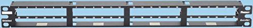 Panduit QSP48HDBL QuickNet All Metal Patch Panel