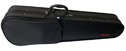 Geigenkoffer schwarz 4/4, stabil und leicht, Koffer für Violine, Geigenkasten