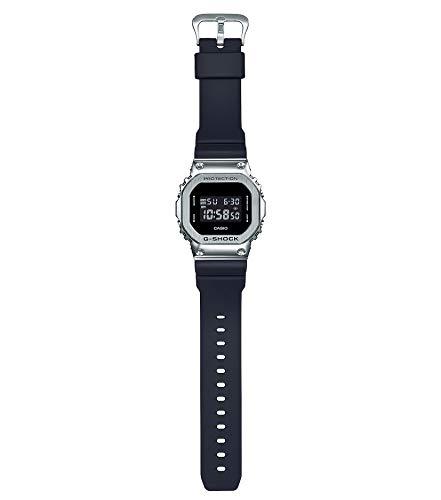 [カシオ]腕時計ジーショックメタルカバードGM-5600-1JFメンズブラック