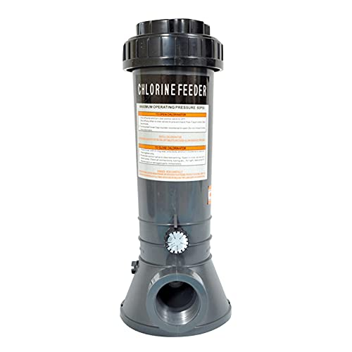 Watermelon Dispositivo químico automático del dispensador de la dosificación de la piscina del alimentador CL200/CL100 para el alimentador del dispensador del cloro de la piscina sobre tierra