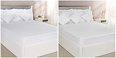 Solimo Water Resistant Cotton Mattress Protector