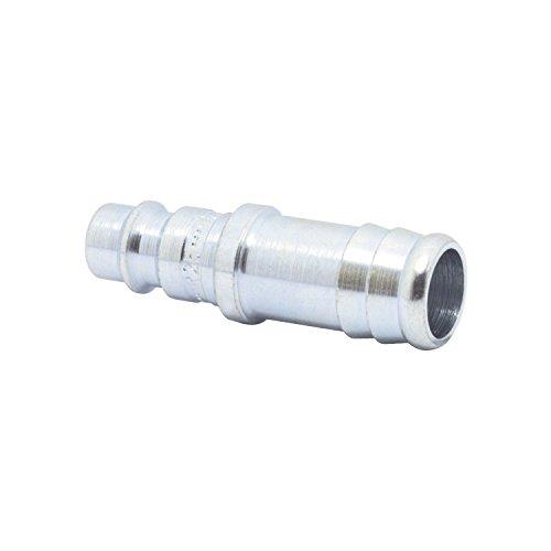 ELMAG 42636 Euro Druckluft Stecktülle aus Stahl für 6 mm Schlauch