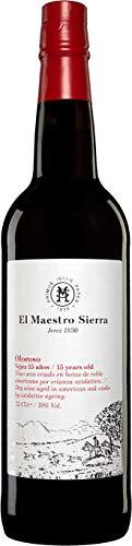 1 Flasche Sherry: Oloroso 15 yrs (seco) Sherrys halbtrocken Palomino 19,00% 0,38 lt