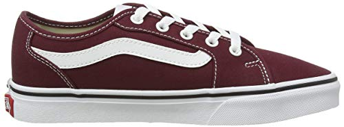 Vans Damen Filmore Decon Sneaker, Rot ((Canvas) Port Royale/True White Mc0) 38 EU