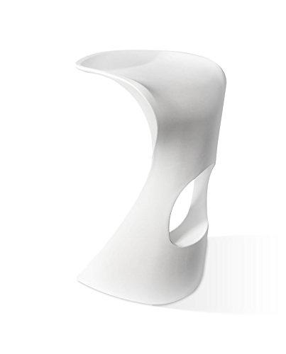 giovanni marchesi design Lot DE 4 Tabouret DE Bar Hard Blanc, 82x49x56
