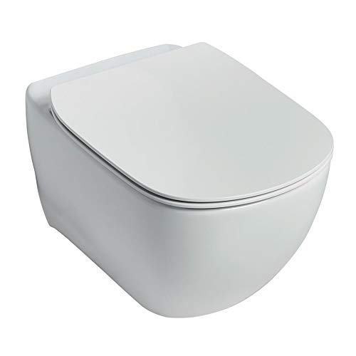 Ideal Standard T354501 Tesi Hänge-WC mit Aquablade-Technologie